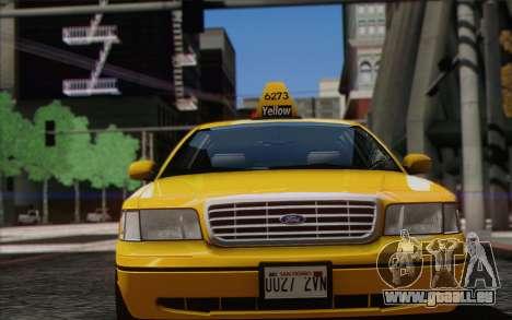 Ford Crown Victoria LA Taxi pour GTA San Andreas