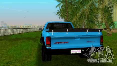 GMC Cyclone 1992 pour une vue GTA Vice City de la gauche