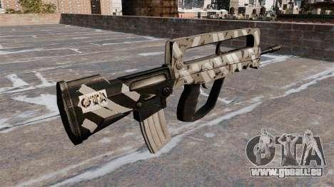 Sturmgewehr FAMAS für GTA 4 Sekunden Bildschirm