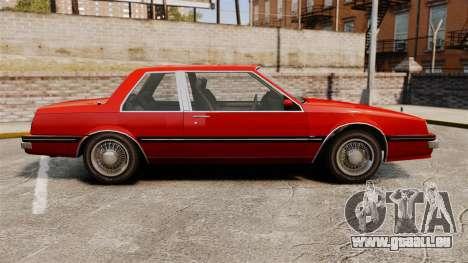 Willard Coupe für GTA 4 linke Ansicht