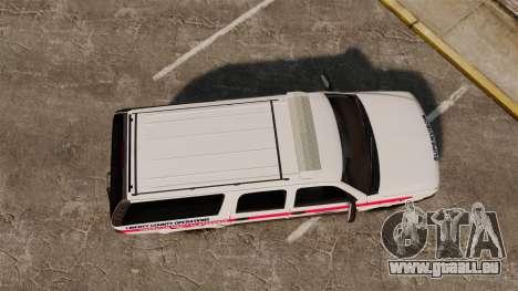 Chevrolet Suburban 2003 AMR [ELS] für GTA 4 rechte Ansicht