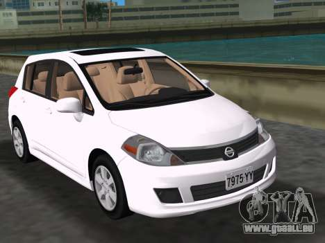 Nissan Tiida pour GTA Vice City