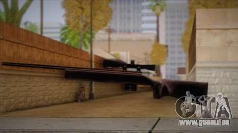 Fusil de sniper de Max Payn pour GTA San Andreas quatrième écran