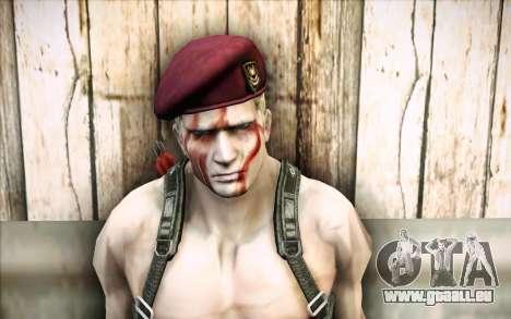 Jack Krauser mercenaire pour GTA San Andreas troisième écran