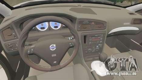 Volvo S60R für GTA 4 Rückansicht
