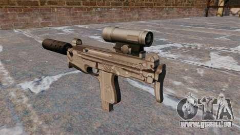Maschinenpistole PM-98-Glauberyt für GTA 4 Sekunden Bildschirm