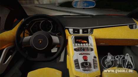 Lamborghini Aventador LP 700-4 RENM Tuning pour GTA San Andreas vue de droite