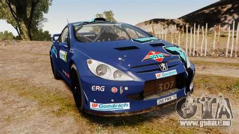 Peugeot 307 WRC pour GTA 4