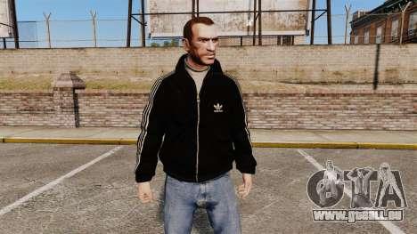 Adidas Originals - Olimpijka-noir pour GTA 4