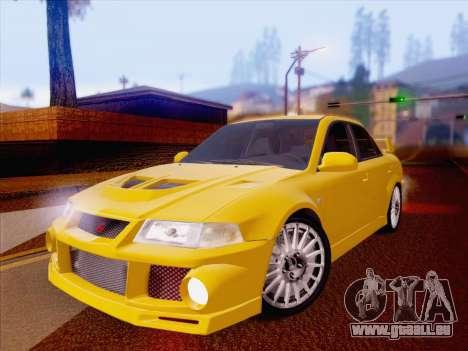Mitsubishi Lancer Evolution VI LE für GTA San Andreas
