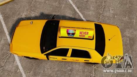 Ford Crown Victoria 1999 LCC Taxi für GTA 4 rechte Ansicht