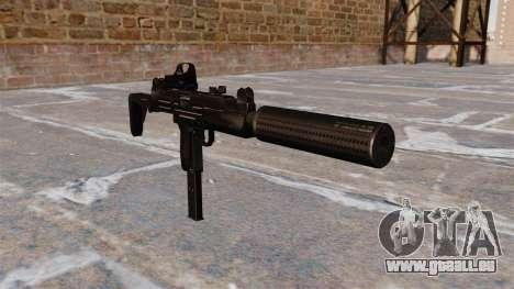 Mitraillette Uzi tactique pour GTA 4