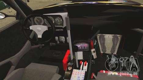 Lancia Delta S4 GroupB pour GTA 4 est une vue de l'intérieur