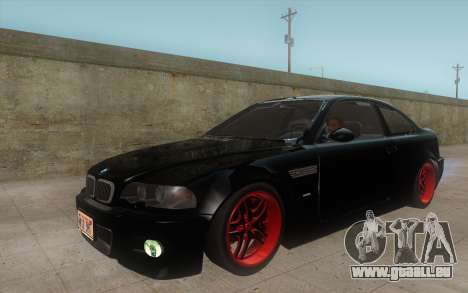 BMW M3 e46 Duocolor Edit für GTA San Andreas linke Ansicht