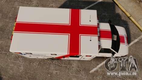 Brute B.C. Ambulance Service [ELS] für GTA 4 rechte Ansicht