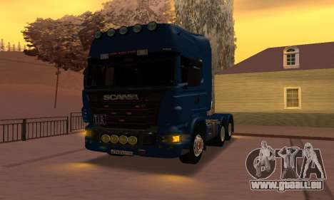 Scania Topline R730 V8 pour GTA San Andreas vue de droite