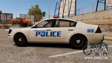 Pinnacle Police LCPD [ELS] pour GTA 4 est une gauche