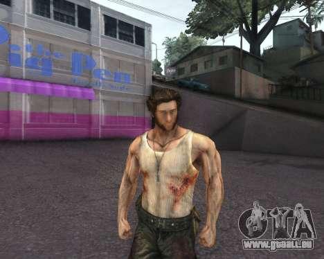 X-men Origins: Wolverine [Skins Pack] pour GTA San Andreas deuxième écran