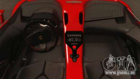 Lamborghini Aventador J 2012 v1.0 pour GTA San Andreas vue de droite