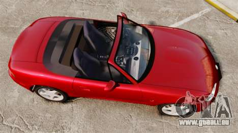 Mazda (Miata) MX-5 pour GTA 4 est un droit