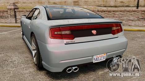 GTA V Bravado Buffalo Supercharged für GTA 4 hinten links Ansicht