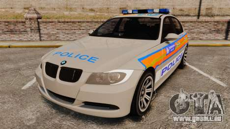 BMW 330 Metropolitan Police [ELS] für GTA 4