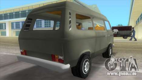 Volkswagen Transporter T3 für GTA Vice City linke Ansicht