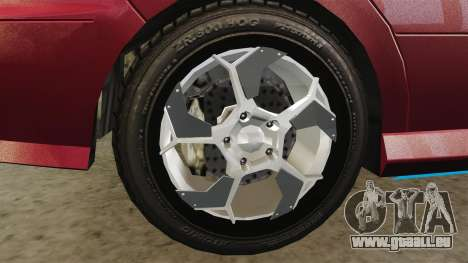Chavos RSX pour GTA 4 Vue arrière