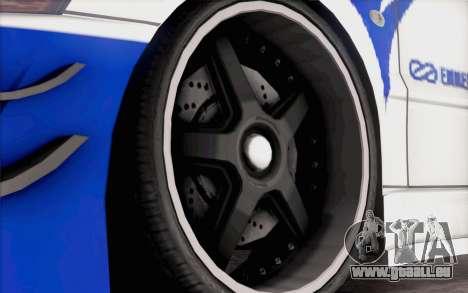 Mitsubishi Lancer Evolution IIIX pour GTA San Andreas vue de droite