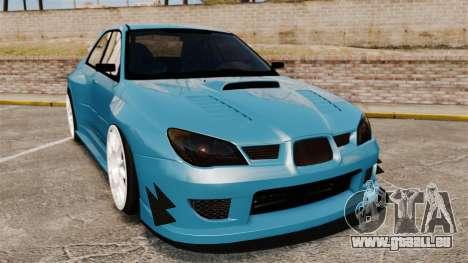 Subaru Impreza HD Arif Turkyilmaz für GTA 4