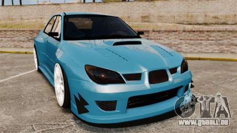 Subaru Impreza HD Arif Turkyilmaz pour GTA 4