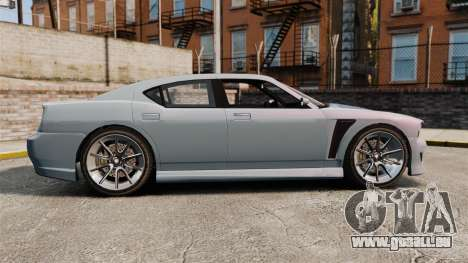 GTA V Bravado Buffalo Supercharged für GTA 4 linke Ansicht