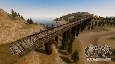 Cliffside emplacement Rallye pour GTA 4 sixième écran
