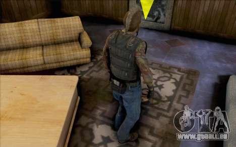 Mathias Nilsson de Mercenaries 2 pour GTA San Andreas deuxième écran