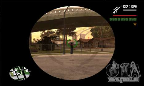 GTA V Sniper Scope für GTA San Andreas her Screenshot