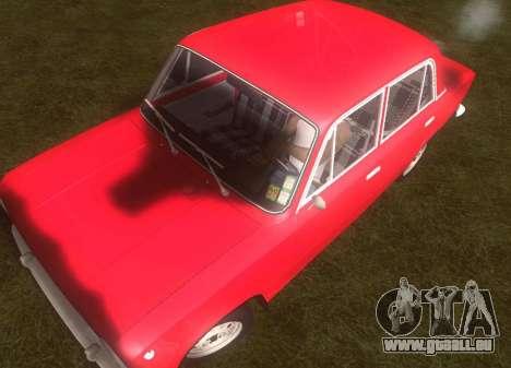 Fiat 124 pour GTA San Andreas vue arrière