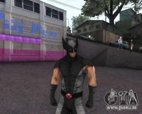 X-men Origins: Wolverine [Skins Pack] pour GTA San Andreas huitième écran