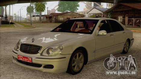 Mercedes-Benz W220 S500 4matic für GTA San Andreas