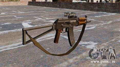 AKS74U automatique pour GTA 4 secondes d'écran