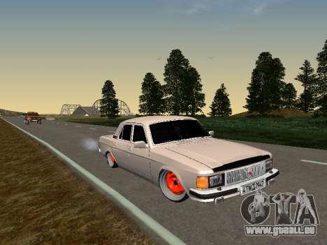 GAZ 3102 Haltung für GTA San Andreas
