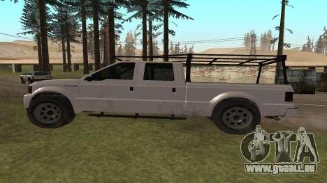 Sadler de GTA 5 pour GTA San Andreas laissé vue