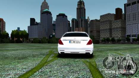 Mercedes-Benz S-Class W222 2014 für GTA 4 rechte Ansicht