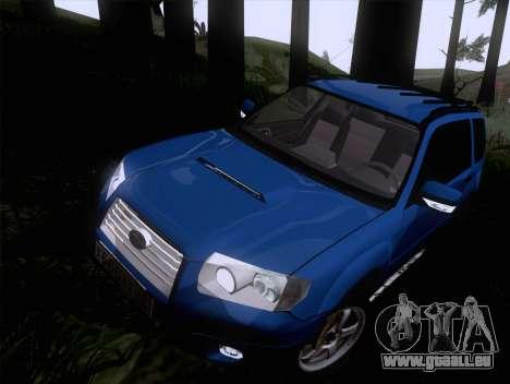Subaru Forester 2.5XT 2005 pour GTA San Andreas