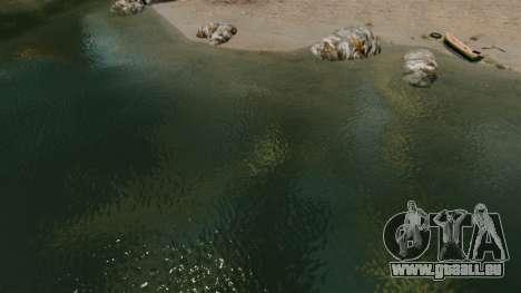 La nouvelle couleur de l'eau de mer pour GTA 4