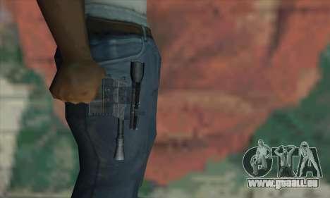 Blaster aus Star Wars für GTA San Andreas dritten Screenshot
