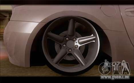 BMW Z4 Stance pour GTA San Andreas sur la vue arrière gauche