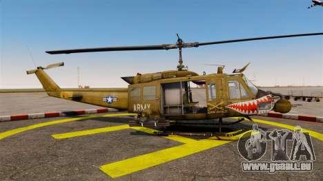 Bell UH-1 Iroquois v2.0 Gunship [EPM] für GTA 4 linke Ansicht