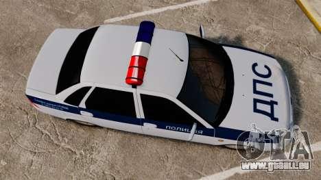 2170 Vaz-Lada Priora DPS pour GTA 4 est un droit