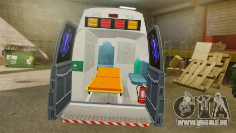 Vapid Speedo AMR [ELS] für GTA 4 Rückansicht