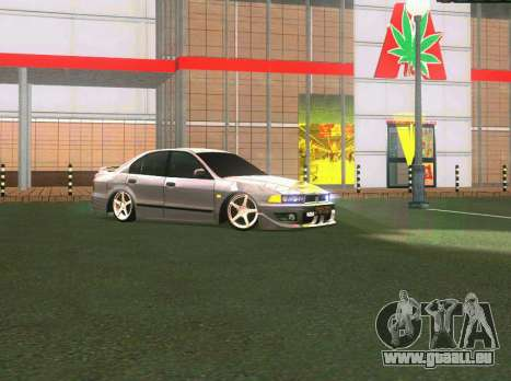 Mitsubishi Galant für GTA San Andreas Rückansicht